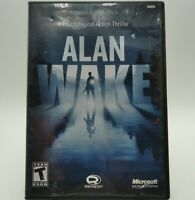 Alan Wake Limited Collector's Edition Xbox 360 Microsoft Disc Case Manual Tested