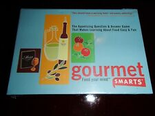 Gourmet Smarts Game New Sealed Trivia Card Game Feed Your Mind