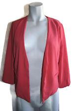 FINAL TOUCH Women's Sz S Small Jacket Modern Career Open Cardigan