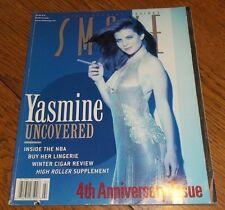SMOKE Magazine Winter 1999/'00 Yasmine Bleeth ULTIMATE FIGHTING Indian Tapac NBA