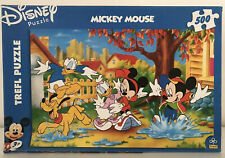 LOVELY DISNEY MICKEY MOUSE 500 PIECE JIGSAW PUZZLE TREFL MINNIE DONALD DAISY ETC
