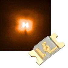 100 pezzi LED ARANCIONE 3mm 4800mcd 2,0-2,2v 20ma ORANGE-ARANCIONE oransje naranja