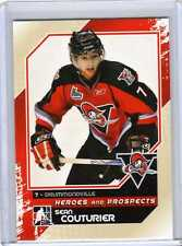 SEAN COUTURIER 10/11 ITG Heroes Prospects Pre-Rookie #61 Hockey Card Insert