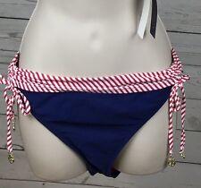 SPERRY Top-Sider L Red White Blue Bikini Bottom New