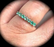 Emerald Oiling/Resin Fine Rings