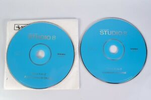 Macromedia Studio 8 2 CD's Windows / Mac Spanish Version