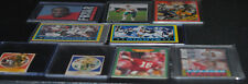 LOT OF 9 FOOTBALL CARDS 1985 1986 OTHERS FRYAR ROOKIE MARINO MONTANA GIANTS