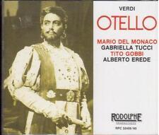 Verdi: Otello / Erede, Del Monaco, Tucci, Gobbi, Clabassi, Tokyo 4.2.1959 - CD