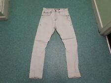 "Topman Skinny Carrot Jeans Waist 32"" Leg 32"" Faded Light Blue Mens Jeans"