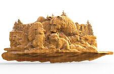 3D Model STL Models for CNC Router 3D Printer Artcam Vetric aspire...2012