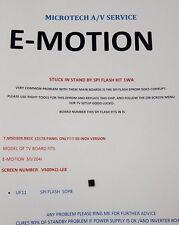 E-motion 50/204I T.MSD309.B81C 12176 coincé en veille kit réparation lire annonce