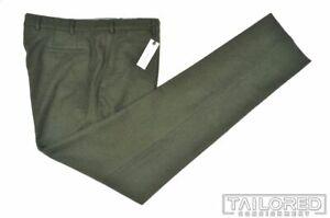 NWT $178 - TAYLOR STITCH Telegraph Trouser Olive Herringbone Pants Trousers - 38