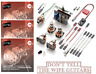 EMG Solderless Active Conversion Wiring Kit For 3 Pickups Switch 4 Pots & STRING