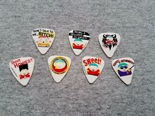 7 assorted SOUTH PARK Guitar Picks Cartman Collection rare HTF
