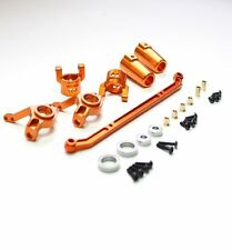 Axial SCX10 #SCX50 Alu. Front, Rear Knuckles Combo set Orange