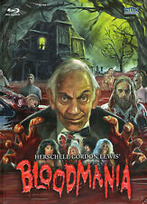Herschell Gordon Lewis' BloodMania  DVD & Blu Ray Media Book CMV Laservision Ltd