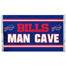 Buffalo Bills Man Cave Banner Flag