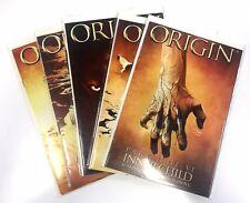 ORIGIN (2001) #2-6 COMPLETE WOLVERINE JENKINS KUBERT FIRST PRINT MARVEL NM/VF