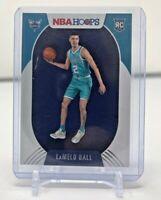 2020-21 Panini NBA Hoops LaMelo Ball RC Rookie #223 Charlotte Hornets