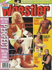 The Wrestler Wrestling Magazine November 1992 Mr. Perfect Buddy Rogers Crush