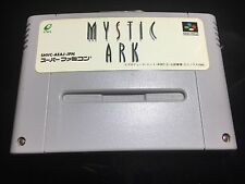 FREE SHIPPING NINTENDO SUPER FAMICOM MYSTIC ARK JAPAN