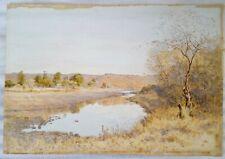 Rare Original Mary E. Butler [attributed] Signed Watercolour, Ladysmith S Africa