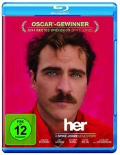 Blu-ray * Her * NEU OVP * Joaquin Phoenix, Scarlett Johansson, Amy Adams
