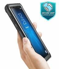 Samsung Galaxy S9 Plus Case Drop Protection Clear Bumper Screen Protector Black