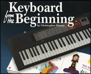 Keyboard from the Beginning Music Book Learn How to Play Beginner Kids Method