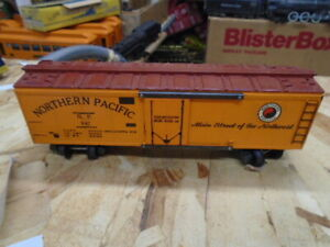American Flyer #947 NORTHERN PACIFIC REEFER...EXCELLENT FINISH, BOLD LOOKING.!