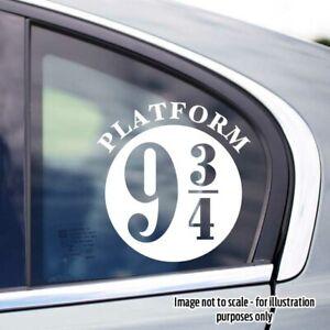 150mm high Harry Potter/Hogwarts Express/Platform 93/4 Car Van Boat Window Decal
