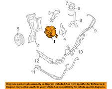 GM OEM-Power Steering Pump 19153684