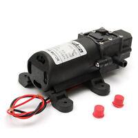 DC 12V 70W Motor High Pressure Diaphragm Water Self Priming Pump 6L/Min New