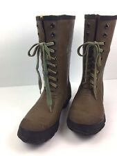Pro Line Water Proof Insulated Lace Up Boots Steel Shank Fishing Hunting Size 7