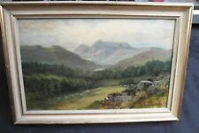 ANTIQUE OIL PAINTING BY SAMUEL LAWSON BOOTH 1836-1928