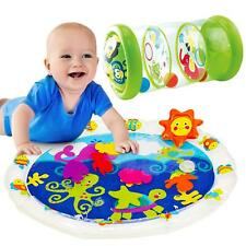 2 in 1 Tummy Time Water Mat & Jungle Roller Set - Sensory Baby Toys for Ages 6m+