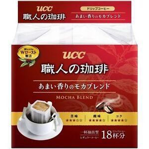 UCC Japan Instant Drip Coffee Mocha Blend 18 packs
