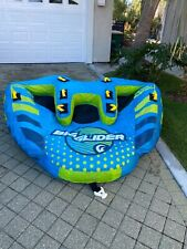 MD Sports Big Sky Big Glider Inflatable Towable Tube for 1-4 People