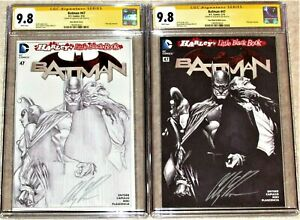 BATMAN #47 CGC 9.8 Signature Series - B&W and Sketch Covers Signed by ALEX ROSS