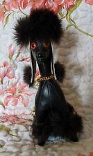 Vintage Herman Pecker Barbie Black Poodle Toy Dog