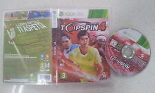Top Spin 4 Xbox 360 PAL Version