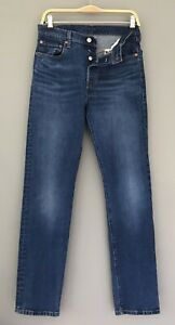 Levis 501 Thrifted & Gifted High Rise Denim Jeans Stretch Button Fly 28 x 32
