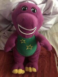 "Barney Purple Light Working No Sound A/F 9"" Tall"