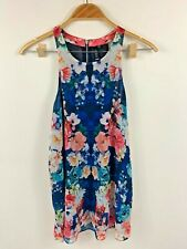 Forever New Women's Short Floral Rainbow Dress Size 10, Gorgeous Summer Pattern