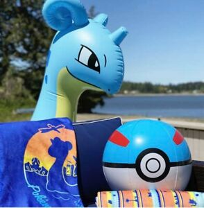 Pokémon Center Lapras Sunset Collection Pool Float • Ships July