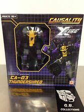 Transformers Fansproject Causality Crossfire Thundershred CA-03 100% Complete