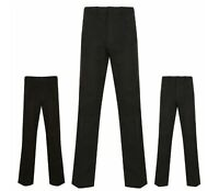 BHS Mens Trousers Atlantic Bay Cotton Active Fit 31 inch Leg Grey Black Navy New