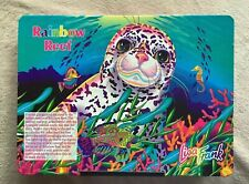 Lisa Frank Rainbow Reef Seal Lap Desk Bean Bag Tray