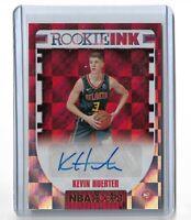 Kevin Huerter Atlanta Hawks 2018-19 Panini hoops basketball Rookie ink auto