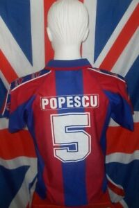 Official Licensed F.C Barcelona Home Shirt 1995-1997 #5 Popescu (M)